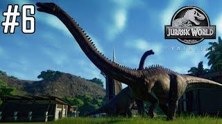 Jurassic World Evolution #6 - Aggrandissement des enclos