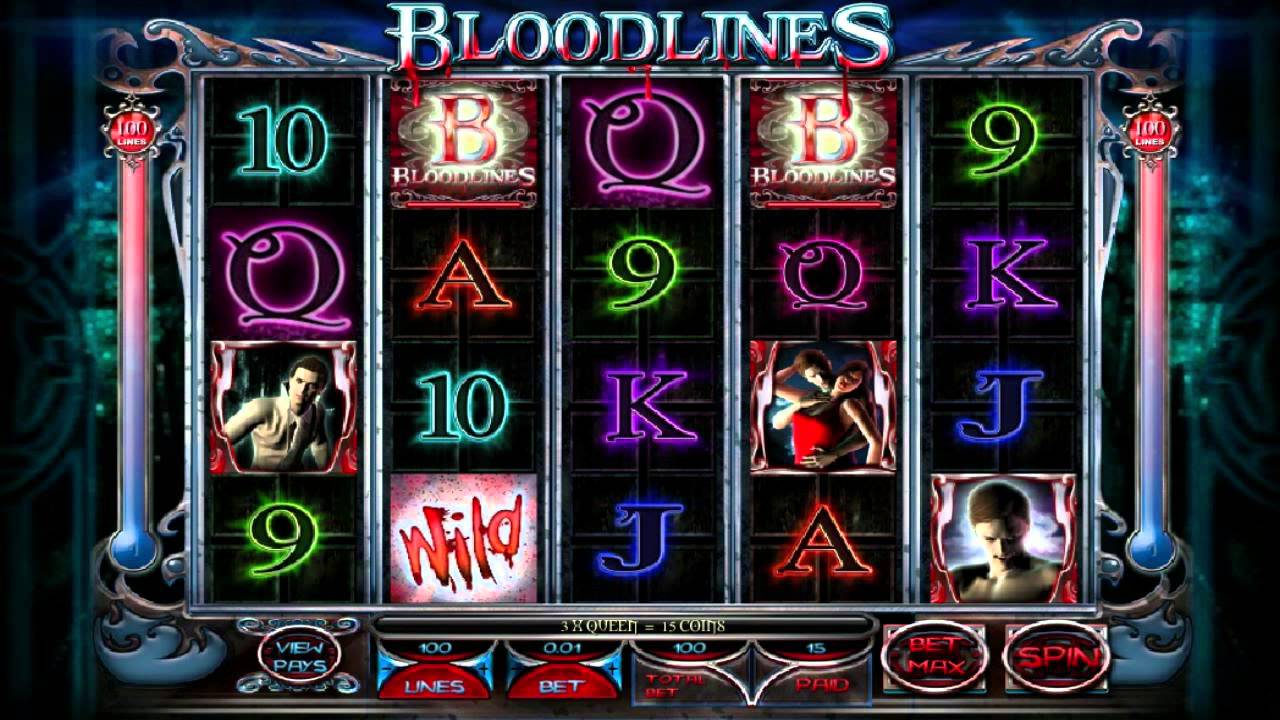 Play Bloodlines Slot Machine Free with No Download
