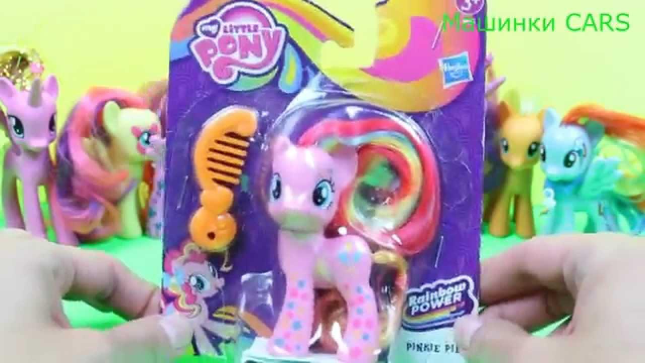 Пони с бантиками игрушки