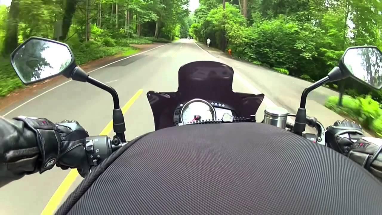 2008 Kawasaki Z1000 - Back roads of Edmonds staring tank bag! FPM mode!!!