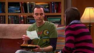 The Big bang Theory - Sheldon and Amy and their new Voice mail message