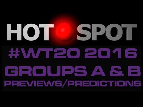 Hot Spot - ICC World Twenty20 2016 groups...