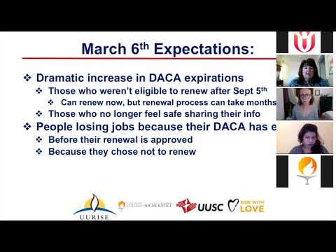 Marching Forth  Our Immigration Justice Landscape | Love Resists Webinar 3/4/2018
