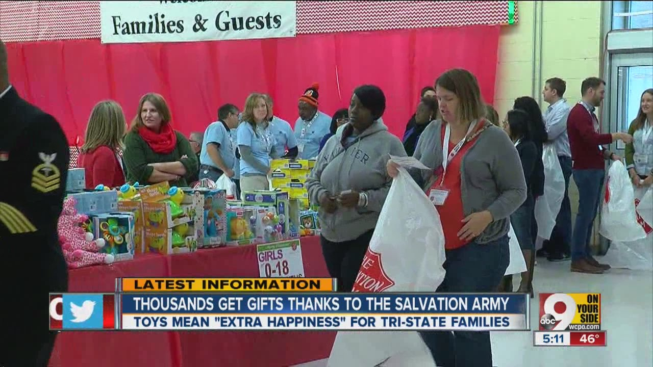 Salvation Army Toy Shop Provides Gifts For Needy Kids