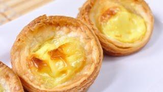 ทาร์ตไข่ Egg Tart (สูตร Homemade)