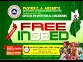 OCTOBER THANKSGIVING SERVICE- FREE INDEED