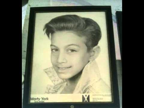 Childhood actor and star Marty York