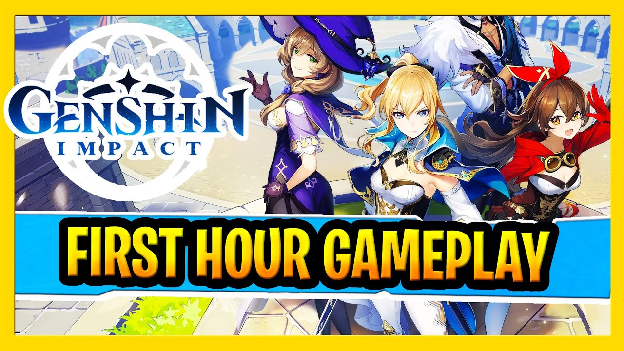 Genshin Impact Pc Gameplay New Free To Play Open World Action Mmorpg First Hour Impressions Youtube