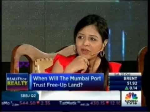 CNBC TV 18, Mr. Vikas Oberoi, CMD, Oberoi Realty at the NAREDCO event, 22nd Oct'16