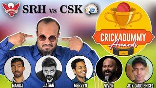 Crickadummy Awards - SRH vs CSK | IPL 2021