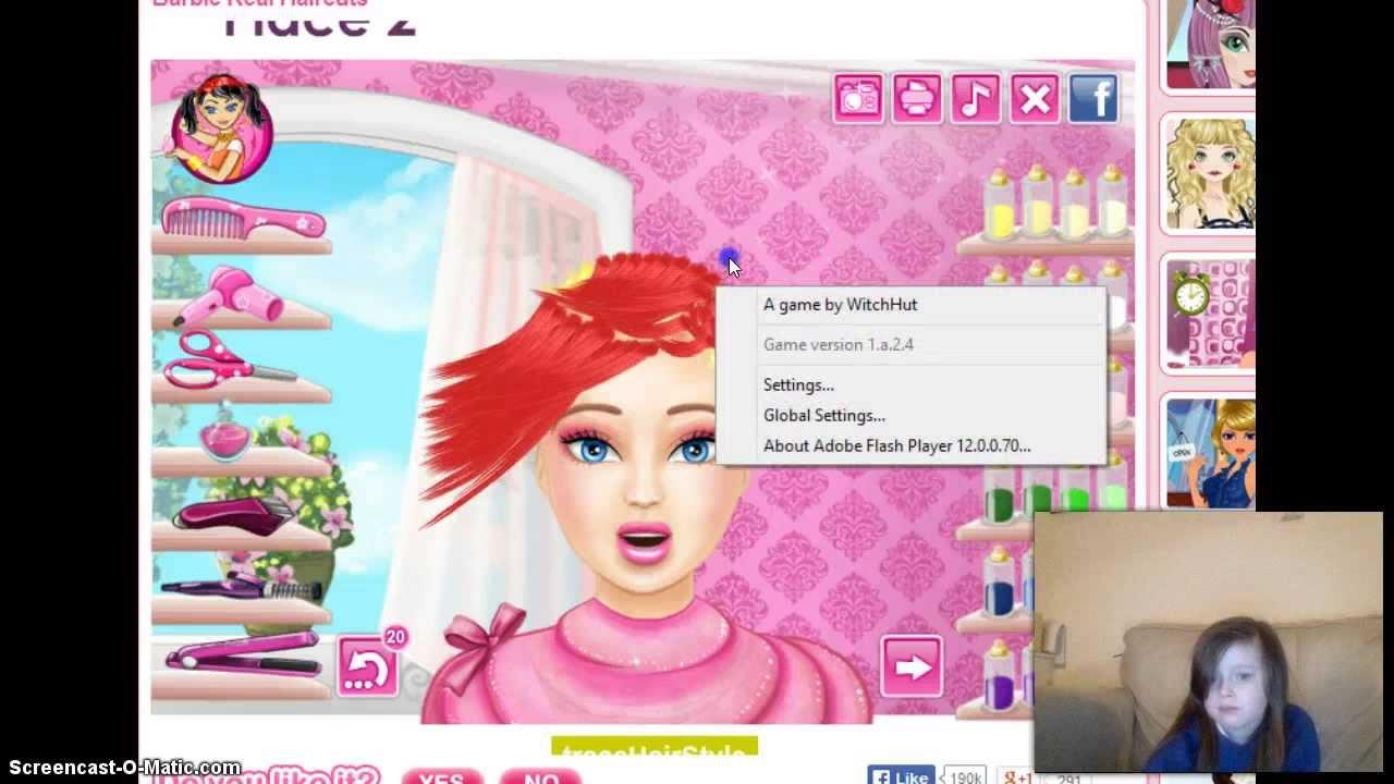 Barbie Real Hair Cuts Youtube