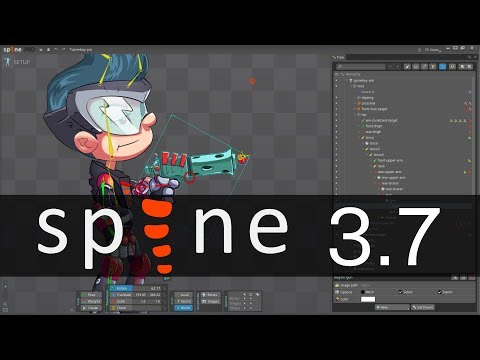 Spine 3 7 Released - YouTube