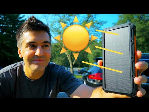 ToughTested ROC 10000mAh Review: Solar Chargers, We Need To Talk…