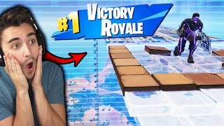 So I tried the Stairway to Heaven Challenge in Season 10 of Fortnite... (IT WORKED!)