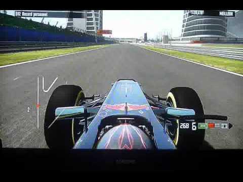 F1 GP Inde: New Delhi :Lap Onboard Vettel