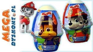 Psi Patrol • Jogurty z Niespodziankami MIAMI • Biedronka • openbox