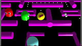 3D Pacman - Free Online Game(Cool 3D Pacman game on Fetchfido Free Online Games. (Shockwave) A great 3D version of Pacman that first appeared courtesy of Namco back around 1980, ..., 2012-05-05T15:36:22.000Z)