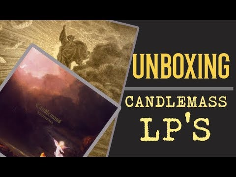 Unboxing Lp's Candlemass  - Tales of Creation & Nightfall