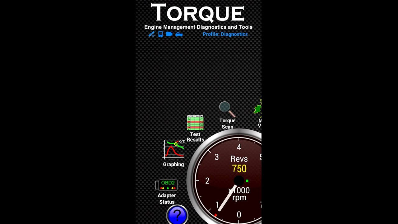 Torque for Android - Realtime Info Demo with Slow PID Refresh Rate - 2003  Nissan Pathfinder