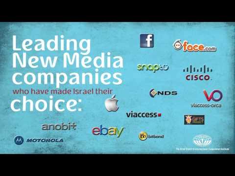 The Israel Export Institute Presents -- Israel's New Media