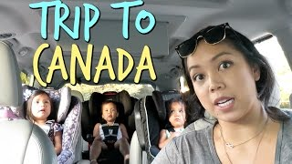 LAST MINUTE TRIP TO CANADA! - August 26, 2017 -  ItsJudysLife Vlogs
