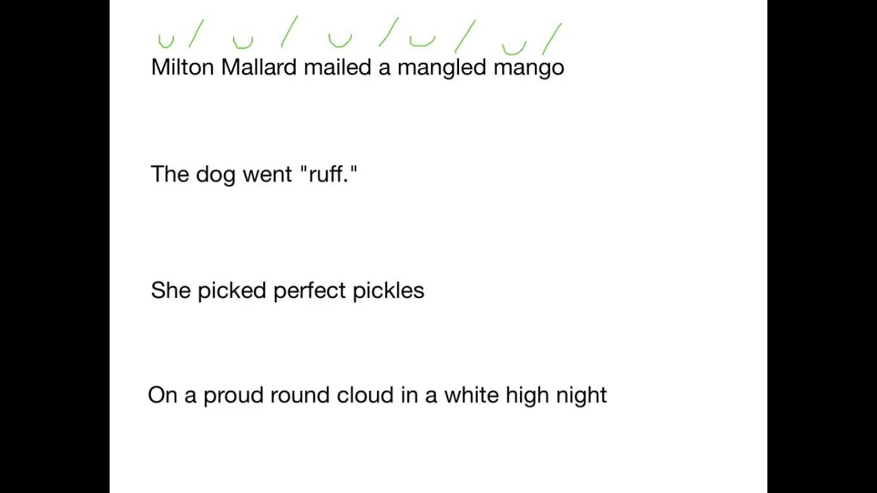 9th Grade Poetry Review