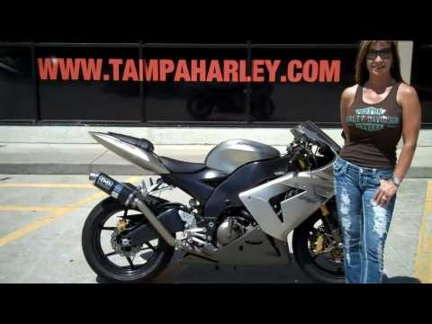 2005 KAWASAKI ZX10R FOR SALE IN TAMPA ORLANDO ST PETE FLORIDA