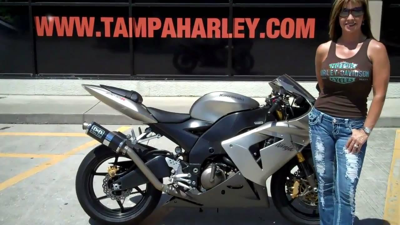 2005 Kawasaki Zx10r For Sale In Tampa Orlando St Pete Florida Youtube