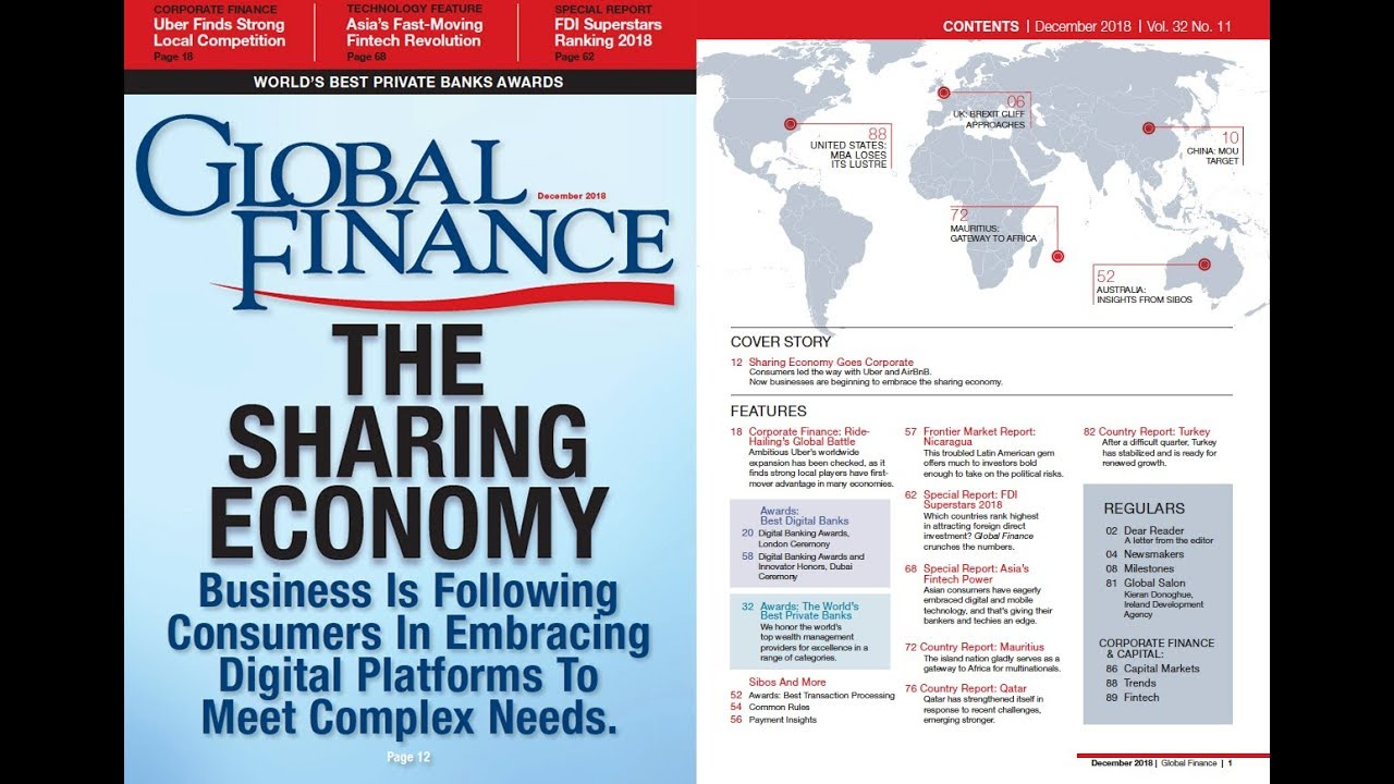 The December 2018 Issue of Global Finance Magazine Is Now Online