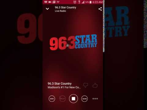 Scotty McCreery sings Five More Minutes on radio