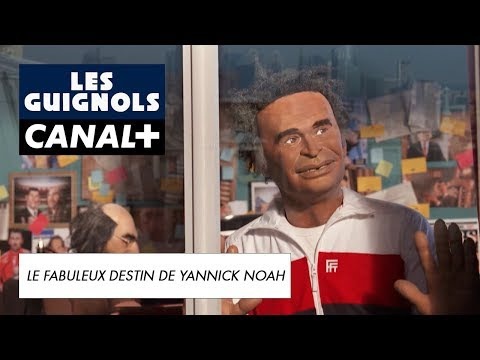 Yannick Noah rencontre son biographe - Les Guignols - CANAL+