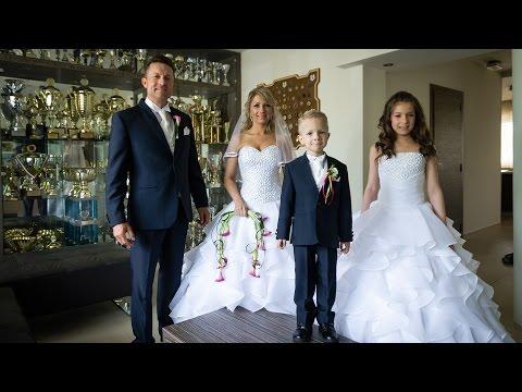 Döme Gábor és Jójárt Andrea esküvője