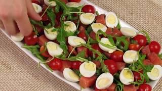Салат с красной рыбой. ПРОСТОЙ И ОБАЛДЕННЫЙ ВКУС