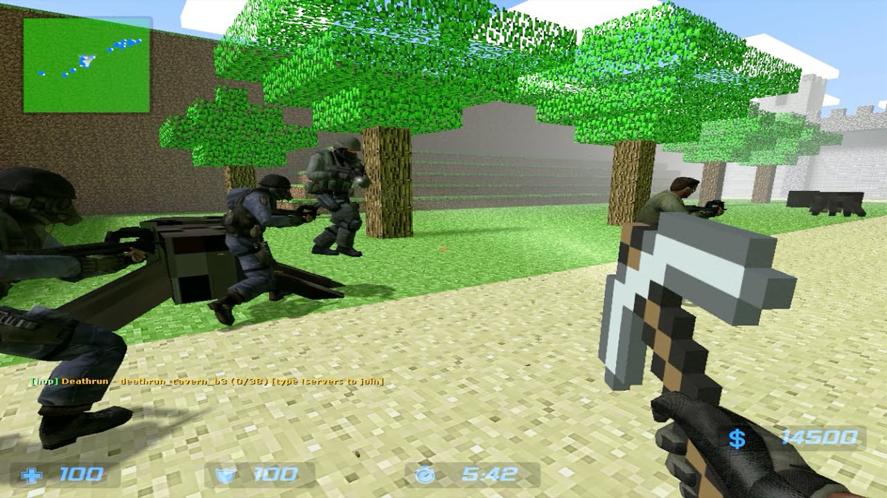 Counter-strike: source zombie escape mod skyrim.