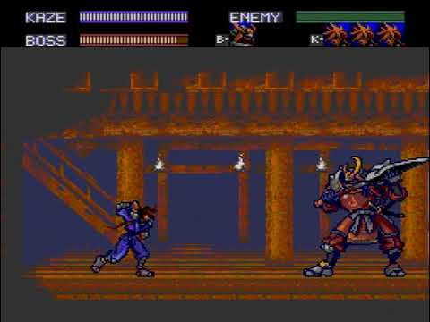 Let's play Kaze Kiri Ninja Action PC Engine CD Rom