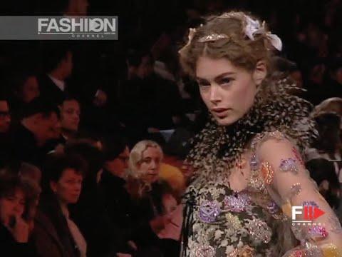 CHRISTIAN LACROIX Haute Couture Spring Summer 2006 Paris by Fashion Channel