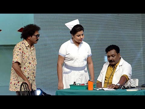 Thakarppan Comedy l Dr. Ullas and Nurse Sneha...! l Mazhavil Manorama