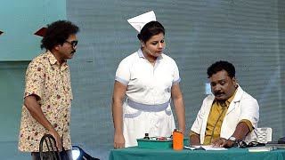 Thakarppan Comedy l Dr Ullas and Nurse Sneha  l Mazhavil Manorama