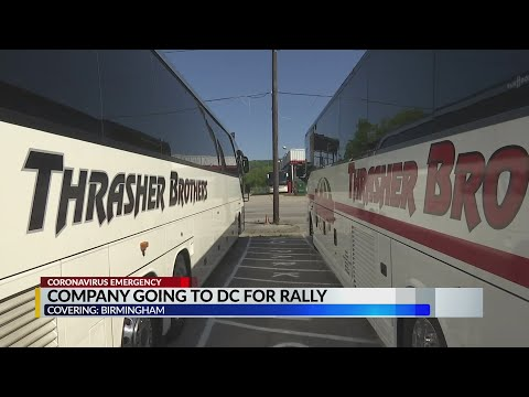 Trasher Brothers Bus Company Going To Washington D.C. For Rally