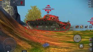 World Of Tanks Blitz ( He Hesh test )