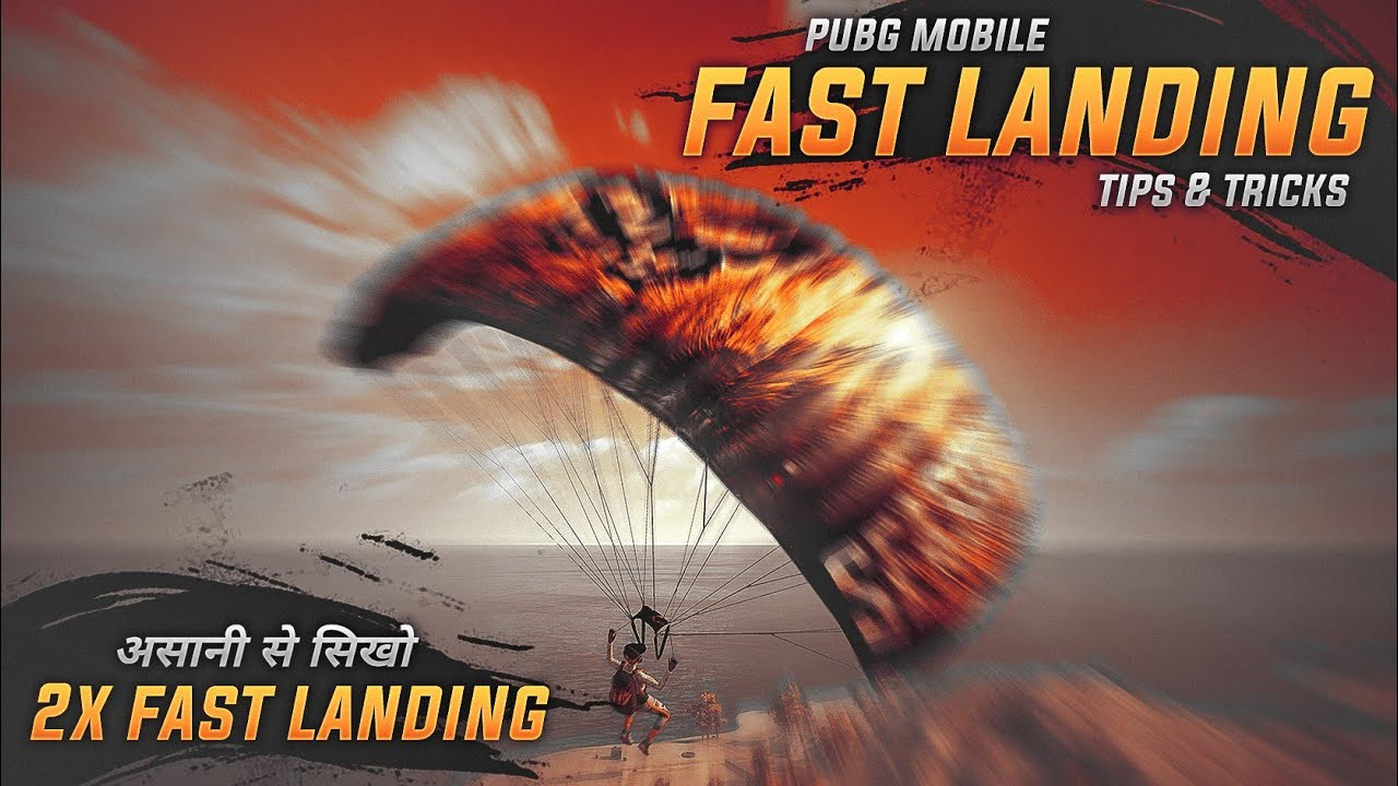 ? How to Land Fast in PUBG Mobile | Land Faster Like Pro in PUBG Mobile