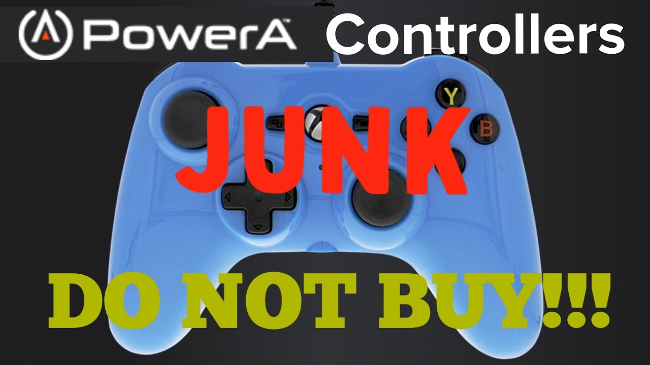 Xbox Power A Controllers Are Junk, DO NOT BUY!!!