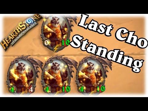 Last Cho Standing Decklist ~ Hearthstone Heroes of Warcraft Blackrock Mountain with WOWHOBBS