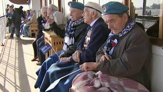 В Архангельск на юбилей прибытия союзного конвоя приехали ветераны Второй Мировой из Великобритании.