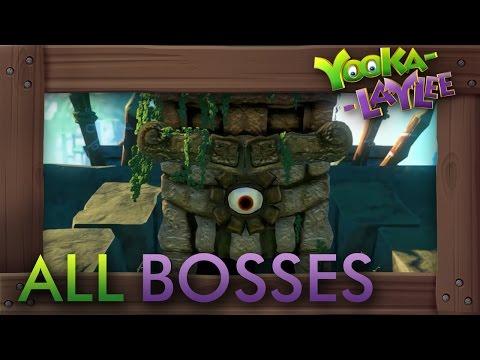 Yooka-Laylee - All Bosses
