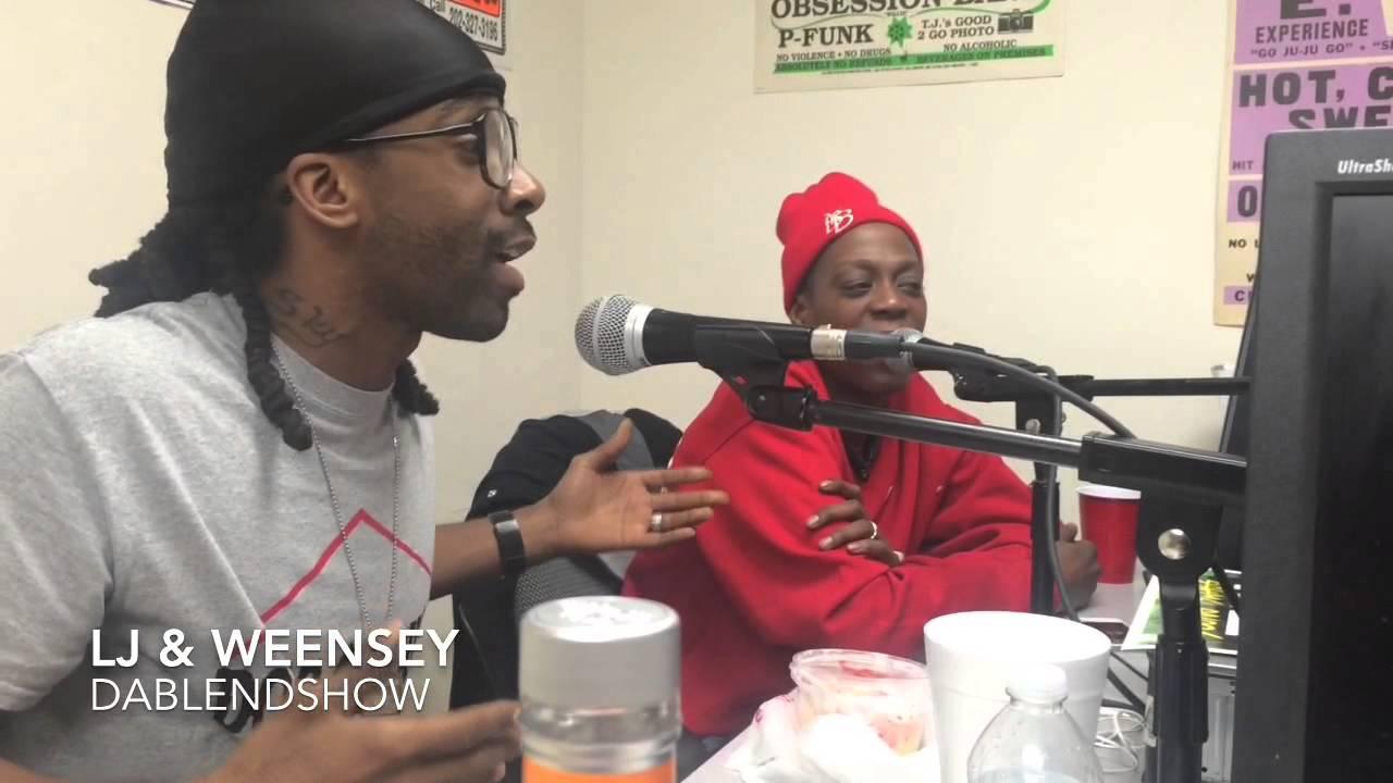 LJ & Weensey visit DaBlendShow - YouTube
