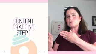 Content Crafting for a Handmade Business Step 1