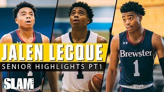 Jalen Lecque: Baby Westbrook Senior Highlights Part 1 🚀