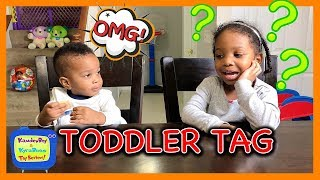 CUTE TODDLER TAG *MUST WATCH* Toddler Interview Asking kids questions   Kids explain funny answers