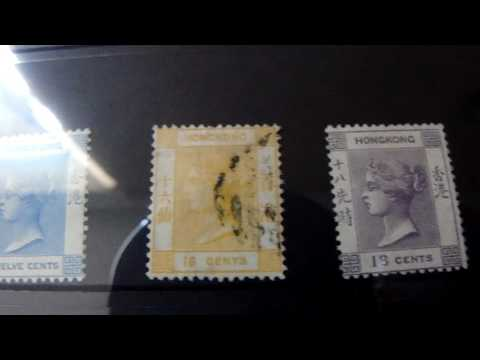 Stamp collection : Hong Kong Victoria